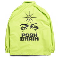 POSHBRAIN SPECIMEN COACH JACKET-DARK LIME