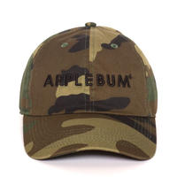 【APPLEBUM】Logo Cotton Camo Cap