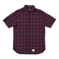 【APPLEBUM】Herringbone Fly Front SS Shirt