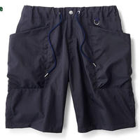 【INTERBREED】MULTIFUNCTION FIELD SHORTS NAVY