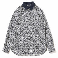 【APPLEBUM】Flower Fly Front Shirt
