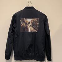 【bubblegum】T/C stadium jacket