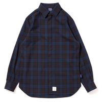 【APPLEBUM】Stretch Check Fly Front Shirt