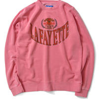 【Lafayette】CREST PIGMENT DYED CREW SWEATSHIRT