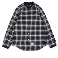 【KIKSTYO】RIB CHECK SHIRTS[NAVY]