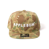 【APPLEBUM】Camo Baseball Cap