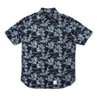 【APPLEBUM】African Flower Fly Front SS Shirt