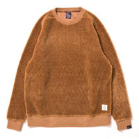 【APPLEBUM】Boa Crew Neck [Brown]