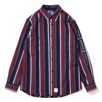 【APPLEBUM】Navy Stripe Shirt