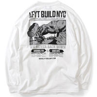 【Lafayette】NEVER BACK DOWN L/S TEE