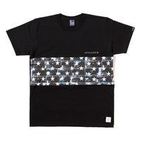 "【APPLEBUM】""Black Kicks Box Stars"" Mix T-shirt [Black]"