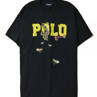 "【INTERBREED】RE-DESIGN SERIES ""P.L.O. KILLER BEE SS TEE""(BLACK)"