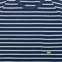 【INTERBREED】2TONE BORDER TEE(NAVY)