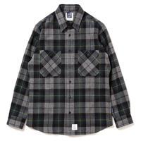 【APPLEBUM】Top Shaggy Check Nel Shirt