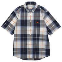 【Double Steal】BIG Check B.D Shirt