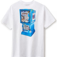 【INTERBREED】DAILY NEWS SS TEE(WHITE)