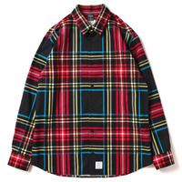 【APPLEBUM】Jacquard Check Shirt [Black]