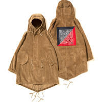 【APPLEBUM】Corduroy Army Coat [Beige]