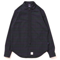 【APPLEBUM】Blackwatch Necktie-Gimmick Shirt