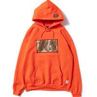 【APPLEBUM】CAMO STENCIL HOODIE [Orange]