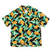 """【APPLEBUM】""""Banana"""" Aloha Shirt [Black]"""