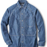 【INTERBREED】FARMER'S RAGLAN SLEEVE JACKET(LIGHT INDIGO)