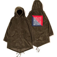 【APPLEBUM】Corduroy Army Coat [Olive]
