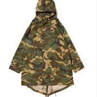 【APPLEBUM】Woodland Camo Army Coat