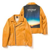 "【APPLEBUM】""Summer Madness"" Leather Riders Jacket"