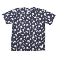 "【APPLEBUM】""Palm Tree"" T-shirt [Navy]"