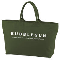 【bubblegum original】canvas  zip tote bag