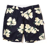 【APPLEBUM】Navy Flower Short Pants