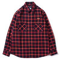【APPLEBUM】Navy/Red Check Nel Shirt