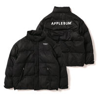 【APPLEBUM】Logo Innercotton Jacket [Black]