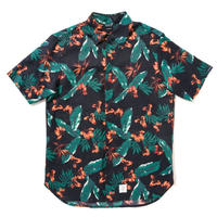 "【APPLEBUM】""Tony Montana"" Fly Front SS Shirt [Navy]"