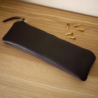New Pen case / Dark Brown