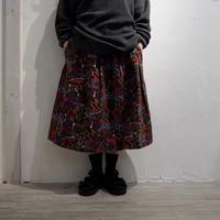 TIGRE BROCANTE / メキシコグログランポケットフィセルスカート /