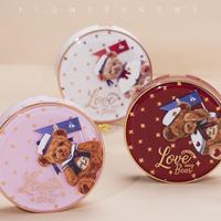 Flower Knows × Bacio Bouquetラブベアシリーズ・別売りパウダーファンデーション・パクトケース
