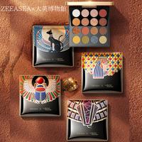 ZEESEA×大英博物館エジプトシリーズ16色アイシャドウパレット