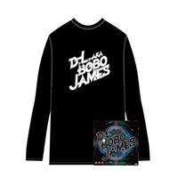 D.L a.k.a. BOBO JAMES 『GAMBLER'S THEME / FUNK BOMB 2011』7inch Vinyl  + D.L _ ロングTシャツ(黒/白)