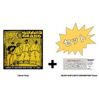 12inch Vinyl (アナログレコード)  + 5/4 Hustler's Convention_Ticket(チケット)