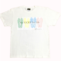 """No KICKS No Life""tee (WHT)"