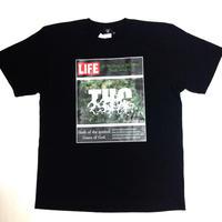 """LIFE/THC""tee (BLK)"