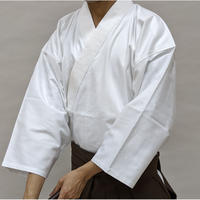 櫻屋印 居合道着 黒/白綿ギャバ Iaido-Gi Gabardine cotton Black/White SIZE5
