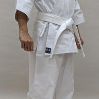 拳王印 空手着 セット(上・下) Karate-Gi SET(Jacket・Pants)#11晒帆布 White Canvas SIZE4