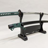 居合刀 Iaito  #713  緑綿巻 Green cotton