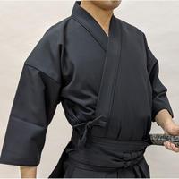 櫻屋印 居合道着 黒キュービック Iaido-Gi Cubic Black SIZE3