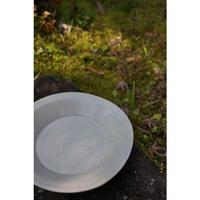 三笘修    白磁段皿