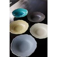 Awabiware (あわびウェア)  輪花中深皿