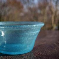 横山秀樹 水色鉢